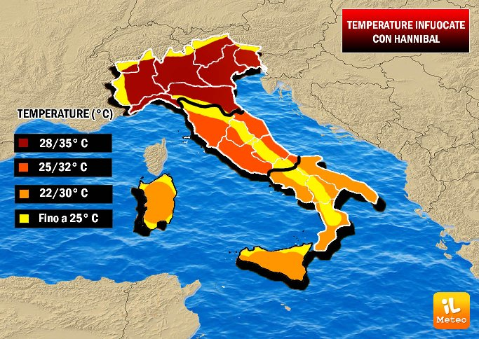 Meteo in Sicilia, weekend di bel tempo e caldo su tutta l'Isola