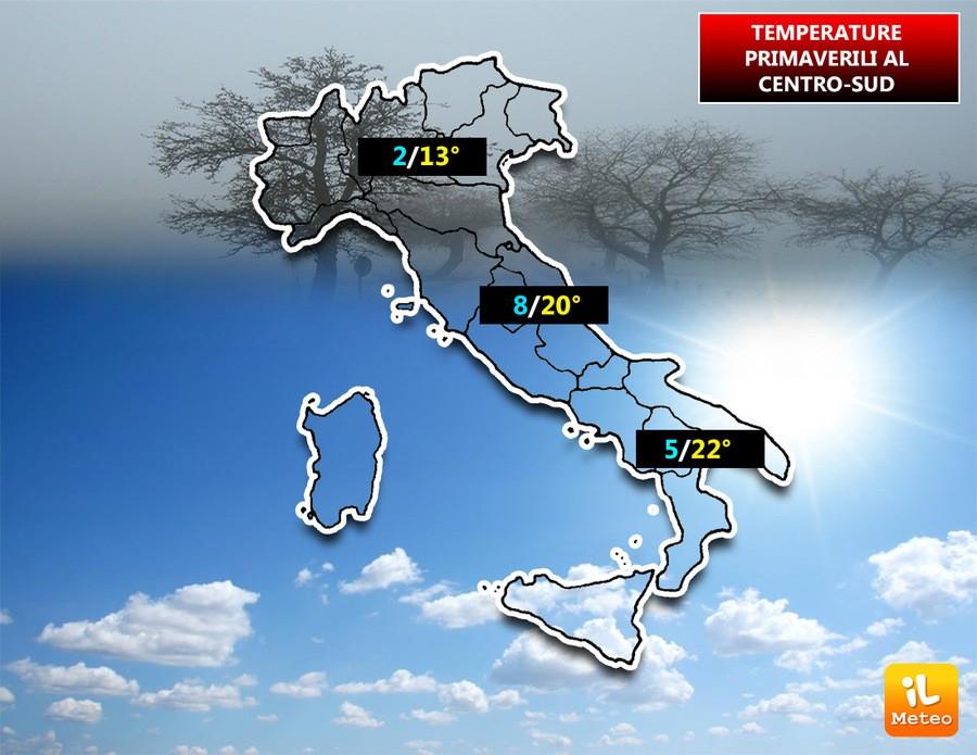 Aria di Primavera sull'Italia