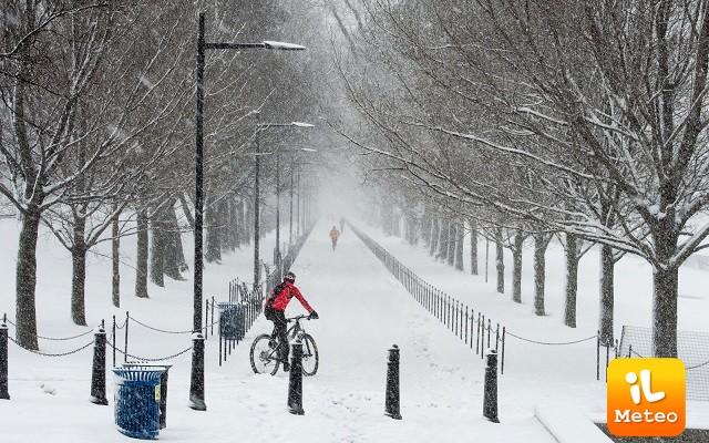 Tempesta Inga, neve e gelo su molti stati del Sud degli USA