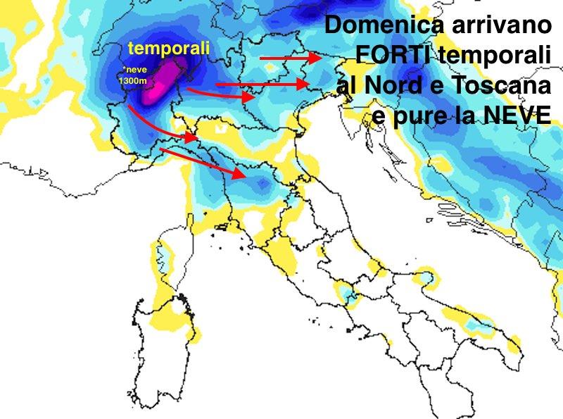 Meteo Weekend Tra Sole E Qualche Temporale Forte In Attesa Del