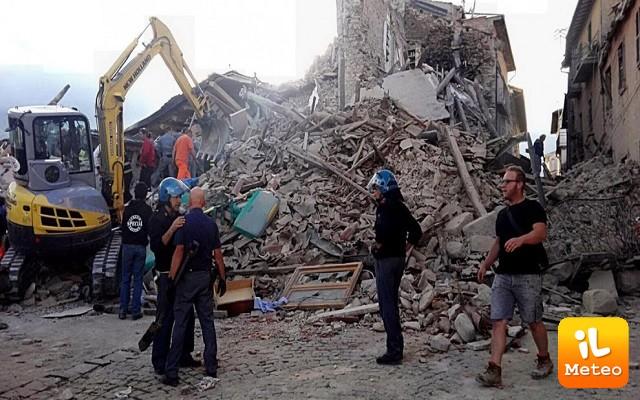 Terremoto Centro Italia: prime attività del Sistema Protezione Civile Puglia