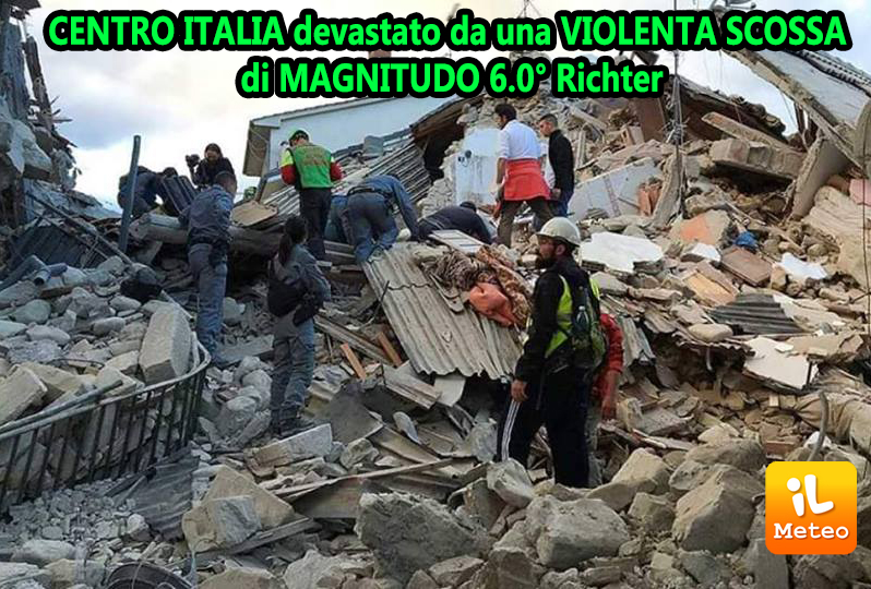 Terremoto centro italia sale a 281 il numero delle vittime - Casa senza fondamenta terremoto ...