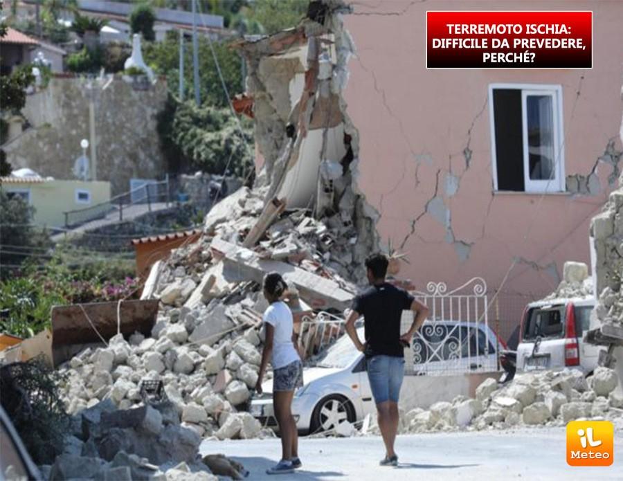Alcune immagini del terremoto di Ischia