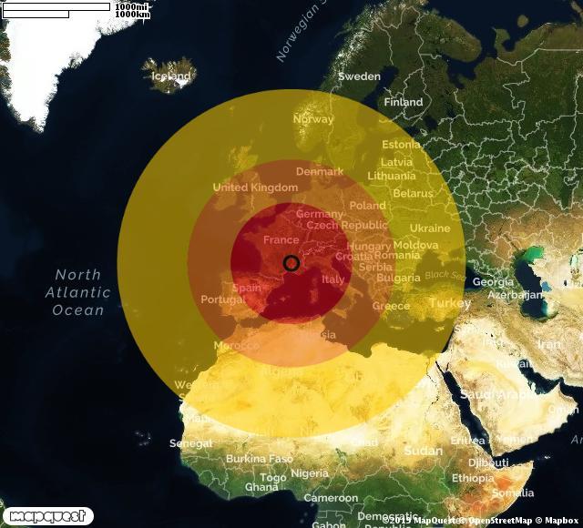 Trema la Francia, terremoto di magnitudo 5.0 al confine con l'Italia