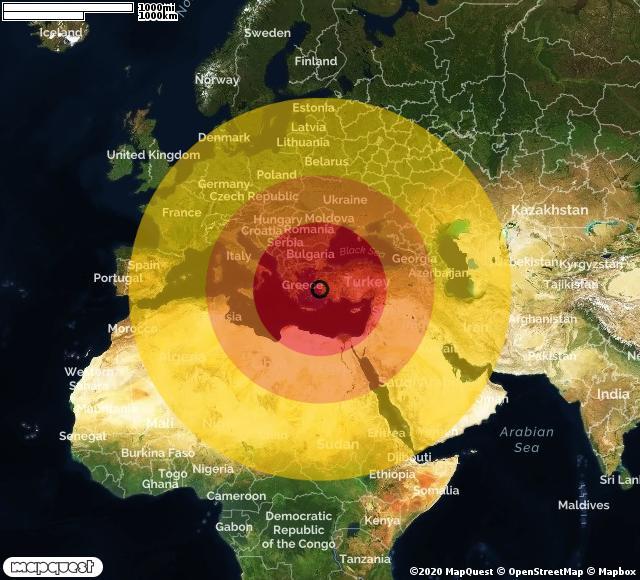 Scossa di terremoto registrata a Avlakia (Grecia)