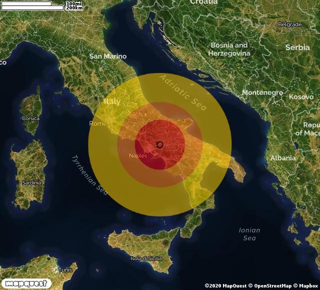 Scossa di terremoto registrata a Ceppaloni (BN)