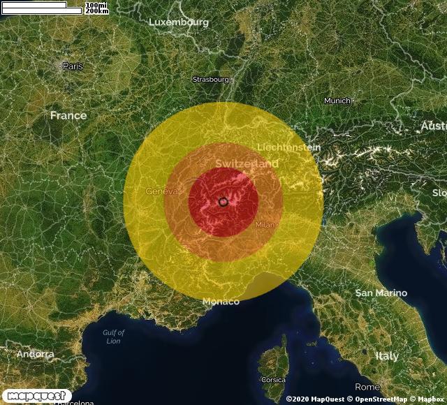 Scossa di terremoto registrata a La Lechere (AO)