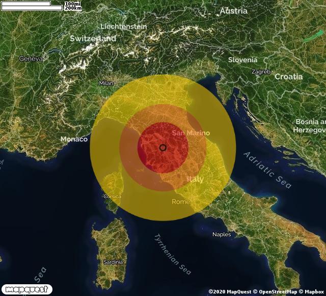 Cartina Toscana Provincia Di Siena.Terremoto In Provincia Di Siena In Toscana A Castellina In Chianti Magnitudo 3 1 Ecco Qui I Dettagli Ilmeteo It