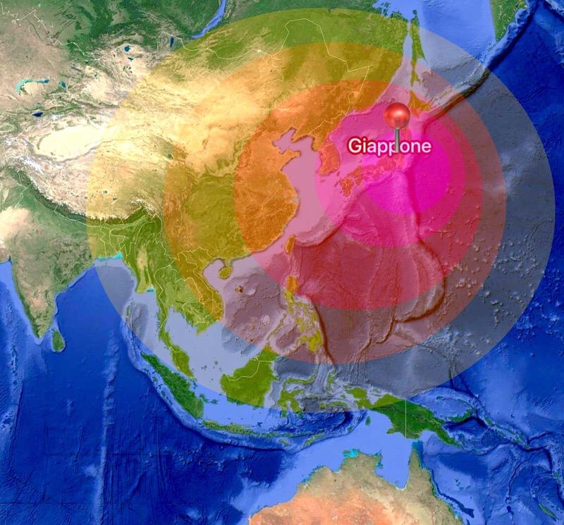 Allerta tsunami dopo sisma di 6.8 in Giappone