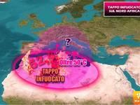 METEO: STRANO TAPPO a 52,4°C in ALGERIA, PRONTO a STAPPARSI contro l'ITALIA. C'è una novità ULTIM'ORA!