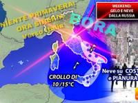 Meteo: WEEKEND, SIBERIA verso Italia, Sabato e Domenica TRIONFALE ingresso del GELO, torna la NEVE, ecco dove