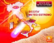 Meteo: ESTATE 2019 a 41 gradi nella FORNACE AFRICANA tra CALDO RECORD ed EVENTI ESTREMI. Ecco perché