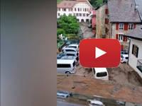 Meteo Cronaca DIRETTA: SVIZZERA, terribile ALLUVIONE di FANGO distrugge il villaggio CRESSIER a NEUCHATEL. VIDEO