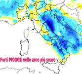 Meteo:  ITALIA nel MALTEMPO, nubifragi sulle Marche, forti piogge in azione prima della SVOLTA