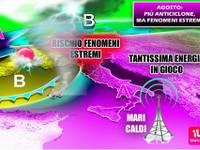 METEO: AGOSTO, terribile SENTENZA, ITALIA con TANTA PIOGGIA, GRANDINE + ALLARME FENOMENI ESTREMI