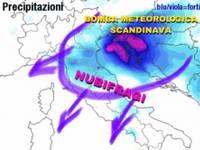 METEO: in arrivo la BOMBA METEOROLOGICA SCANDINAVA, GRANDINE estrema e Bora a 100km/h. ESTATE KO