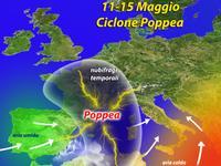 METEO / attenta Italia, arriva il cattivissimo ciclone POPPEA!
