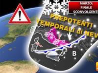Meteo > MARZO dal BIANCO finale SCONVOLGENTE, il POLO NORD porterà PREPOTENTI TEMPORALI di NEVE. Ecco DOVE