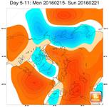 METEO ~ in attesa della PRIMAVERA, 15-21 Febbraio piogge sempre meno diffuse sull'Italia