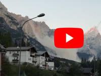 Meteo Cronaca DIRETTA: VENETO, MAXI-FRANA a SAN VITO di CADORE, CROLLA un PEZZO di MONTAGNA. Il VIDEO