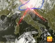 Meteo cronaca DIRETTA: una SVOLTA che arriva da Nord. Conseguenze immediate già nelle prossime ore