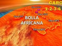 METEO: COLPO di SCENA, da Domenica 1 LUGLIO BOMBA di CALDO a 40°C, arriva CARONTE nel CUORE dell'ESTATE 2018