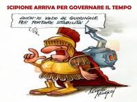 METEO: sarà SCIPIONE a GOVERNARE l'ITALIA? Anche lui vuole portare stabilità