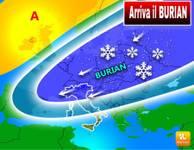 METEO: arriva il BURIAN, FACCIAMO CHIAREZZA, ecco svelato QUANDO e DOVE colpirà presto in Italia
