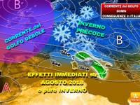Meteo: GRAVE ANOMALIA, OCEANO Atlantico più FREDDO di 13°C, Corrente del Golfo OUT, CONSEGUENZE in ITALIA