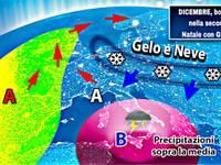 Meteo: DICEMBRE, boom invernale nella seconda parte, Natale con GELO o NEVE [PROIEZIONI]