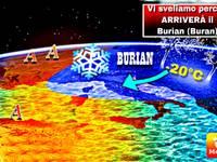 METEO: ULTIME PROIEZIONI, vi sveliamo QUI perché tra fine Gennaio e Febbraio arriverà il BURIAN (o Buran)