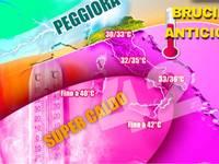 Meteo: BRUCIANTE anticiclone dal CUORE ALGERINO a 51,3°C, TEMPERATURE sú e CALDO WEEKEND. Ghibli fino a Roma