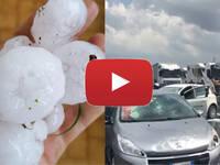Meteo Cronaca DIRETTA: GRANDINATA DEVASTANTE sull'A1 tra PARMA e PIACENZA, Moltissime AUTO DISTRUTTE. Il VIDEO