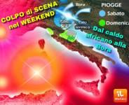 METEO WEEKEND: COLPO di SCENA, dal Caldo Africano alla Bora Fredda, ecco i dettagli Sabato Domenica
