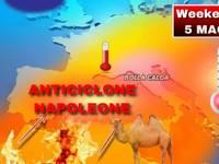 Anticiclone Napoleone 5 Maggio 2019