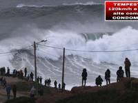 Meteo: FURIOSA TEMPESTA su Sardegna e Mar Tirreno a 120km/h con ONDE alte come un CONDOMINIO, evoluzione