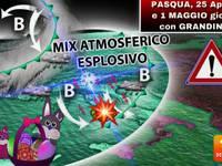 METEO >> PASQUA 2019, 25 APRILE e 1 MAGGIO giorni CLAMOROSI, con NEVE e GRANDINE, ecco perchè accadrà