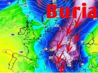 Meteo: ecco il BURIAN SIBERIA, NEVE, ghiaccio a Roma, facciamo DEFINITIVAMENTE CHIAREZZA su QUANDO arriverà