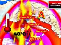 Meteo: sta per arrivare una BOLLA AFRICANA chiamata Lucifero con punte di 40 gradi. Ecco da QUANDO