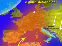 METEO | 6 giorni di sole e caldo con HANNIBAL [VIDEO]