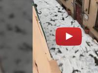 Meteo Cronaca DIRETTA VIDEO: LUCCA, intensa GRANDINATA riempie di GHIACCIO il Centro STORICO della città. IMMAGINI