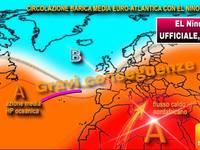 Meteo: è UFFICIALE, arriva El Niño, GRAVI conseguenze DIRETTE anche in Italia. Ecco cosa provocherà