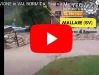 Meteo Cronaca DIRETTA: Terribile ALLUVIONE in VAL BORMIDA trascina via tutto. Il VIDEO
