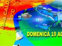 Meteo: Domenica con VERA IMMINENTE MITRAGLIATA di GRANDINE in un CONTESTO CALDISSIMO. Ecco le aree a RISCHIO