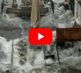 Meteo Diretta: ALLUVIONE a CATANIA, la città si trasforma in un Fiume in piena. Il VIDEO
