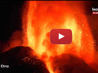 Meteo Cronaca VIDEO: ETNA, VIOLENTO parossismo del VULCANO. Le IMMAGINI dell'ERUZIONE
