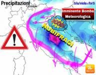 Meteo Comunicato ufficiale Urgente: IMMINENTE BOMBA METEOROLOGICA con crollo termico