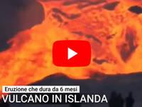 Meteo Cronaca DIRETTA: ISLANDA, ERUZIONE da Record a pochi KM Reykjavik. Il VIDEO da