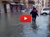 Meteo Cronaca Diretta Video: Sicilia, Nubifragio a Licata, Situazione Critica