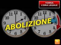Meteo > ORA LEGALE, ABOLIZIONE DEFINITIVA del CAMBIO anche in Italia! Ecco da QUANDO...
